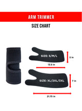 Arm Trimmers with Sweat Cream