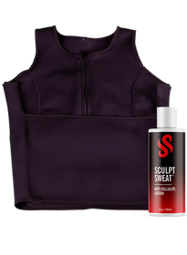 Sweat Vest + Anti-Cellulite Lotion Bundle