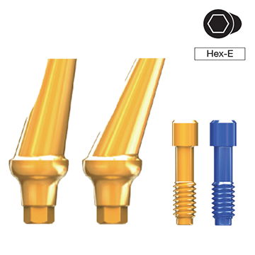 ANYRIDGE ANGLED ABUTMENT [HEX-E]