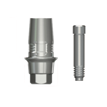 AnyOne ZrGEN Abutment C-Type - ⌀5.5/C=0.5/P=4.7/Large [AOCL4505L]