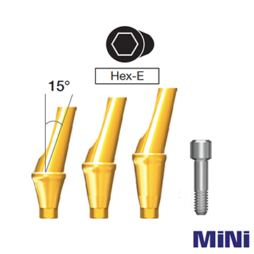 MiNi Angled Abutment [Hex-E]