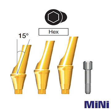 MiNi Angled Abutment [Hex]