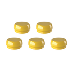 Meg-Rhein Retentive Caps - Yellow [RCYP] 5 pack