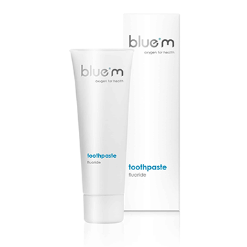 bluem toothpaste with fluoride - 24 x 75ml