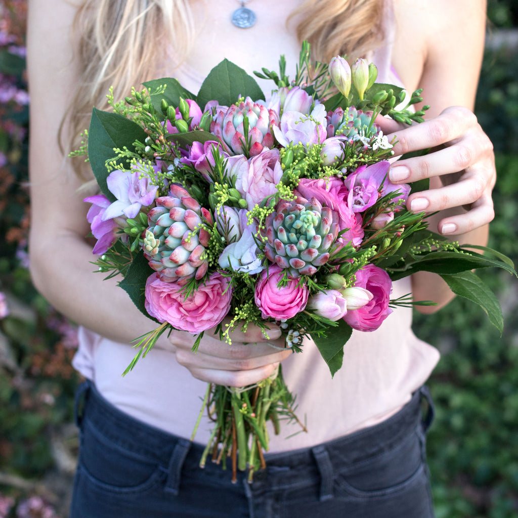 DIY - How to Add Succulents to Any Bouquet!