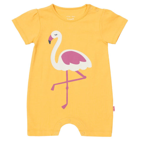Kite Flamingo organic cotton romper