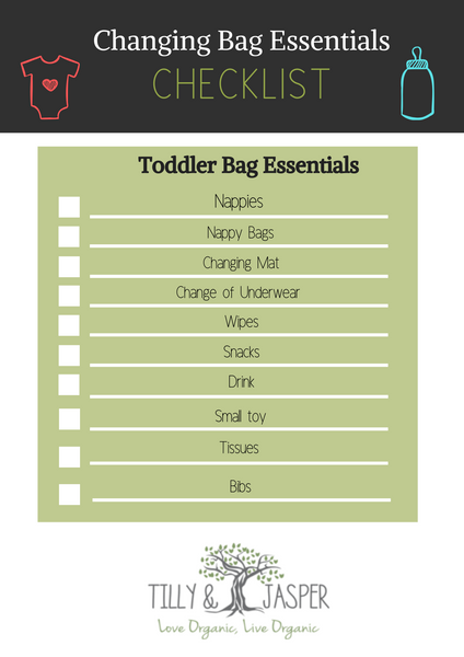 toddler changing bag essentials