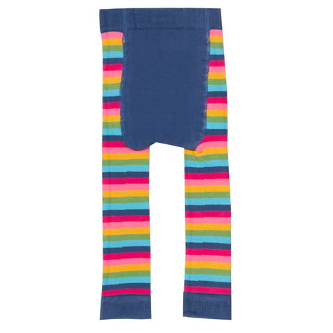 Kite Stripy Heart Knit Leggings