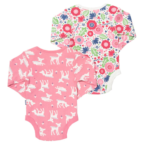 Kite Little Deer Flora Bodysuits