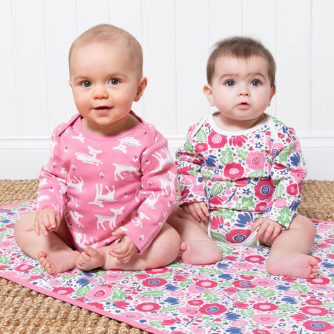 Image of Kite Little Deer Flora Bodysuits