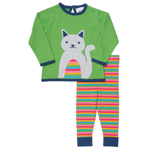 Kite Cute Cat Knit Set