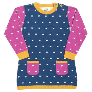 Kite Little Heart Knit Dress