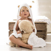 Image of 100% Bamboo hooded baby towel by Tilly & Jasper