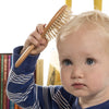 Image of Wooden baby hairbrush and comb set by Tilly & Jasper