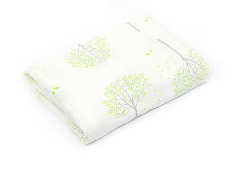 Bamboo Muslin Swaddle - Gentle Nature Edition - Tilly & Jasper