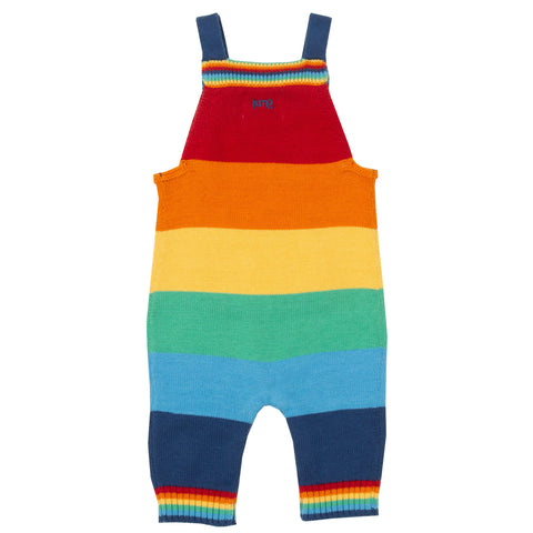 Image of Kite Rainbow Knit Dungarees