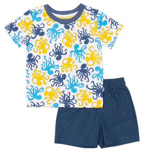 Kite Octopus Short Sleeve Pyjamas
