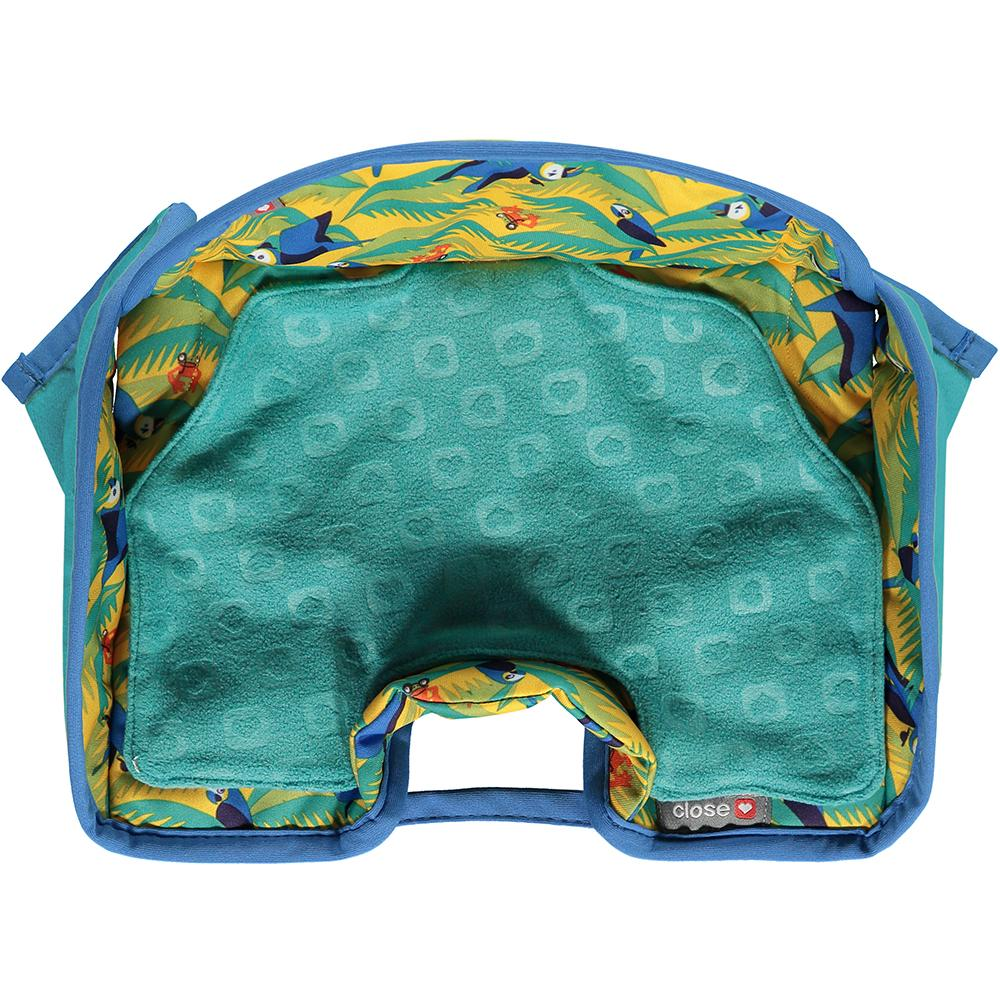 Close Seat Protector- Endangered Jungle Collection - Parrot