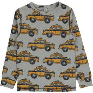 Maxomorra Long Sleeve Top - Taxi