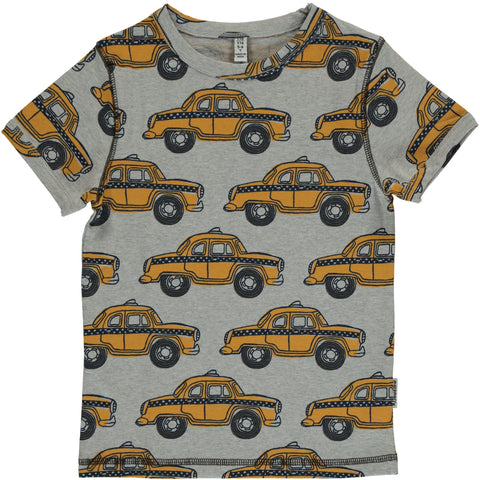 Maxomorra Short Sleeve Top - Taxi