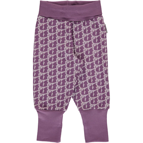 Maxomorra Pants Rib - Squirrel