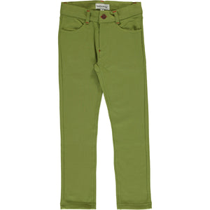 Maxomorra Sweat Softpants - Apple Green