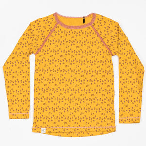 Alba Ghita Blouse - Gold Wild Flower