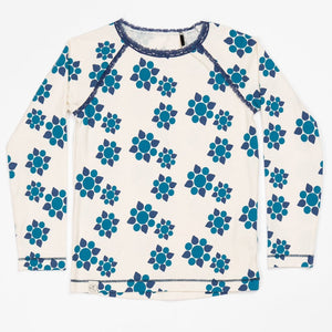Alba Ghita Blouse - Antique White Wild Flower - Tilly & Jasper