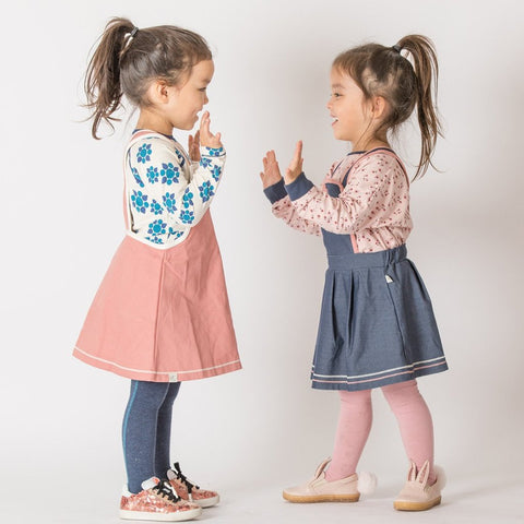 Image of Alba Holly Blouse - Misty Rose Wild Flower - Tilly & Jasper