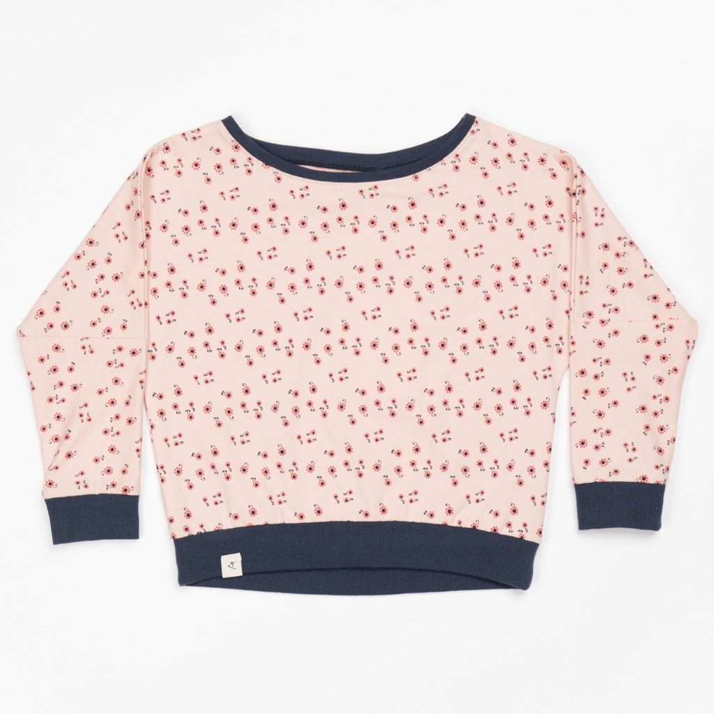 Alba Holly Blouse - Misty Rose Wild Flower - Tilly & Jasper