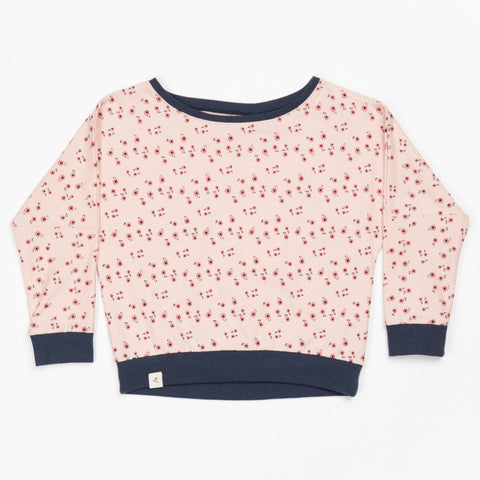 Alba Holly Blouse - Misty Rose Wild Flower
