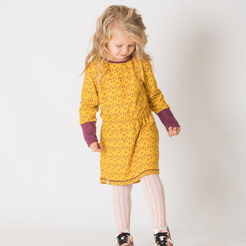 Alba Elisabeth Dress - Gold Wildflower