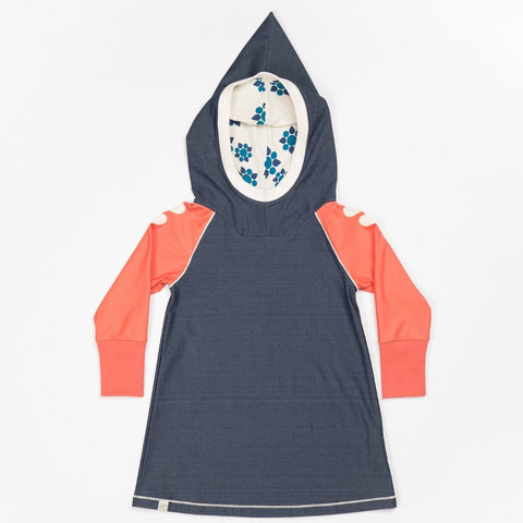 Alba Hope Hood Dress - Mood Indigo