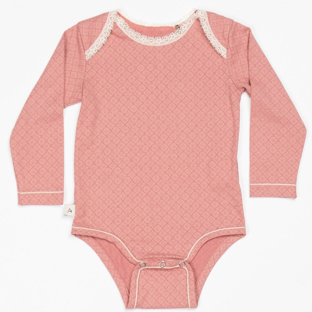 Alba Nanna Body -Old Rose - Organic Cotton