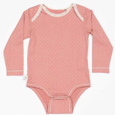 Image of Alba Nanna Body -Old Rose - Organic Cotton