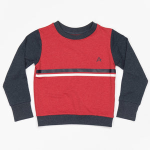 Alba Trevor Sweatshirt - Chilly Pepper Malange - Tilly & Jasper