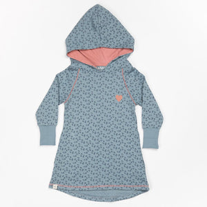 Alba Linh Hood Dress - Citadel Wild Flower - Tilly & Jasper