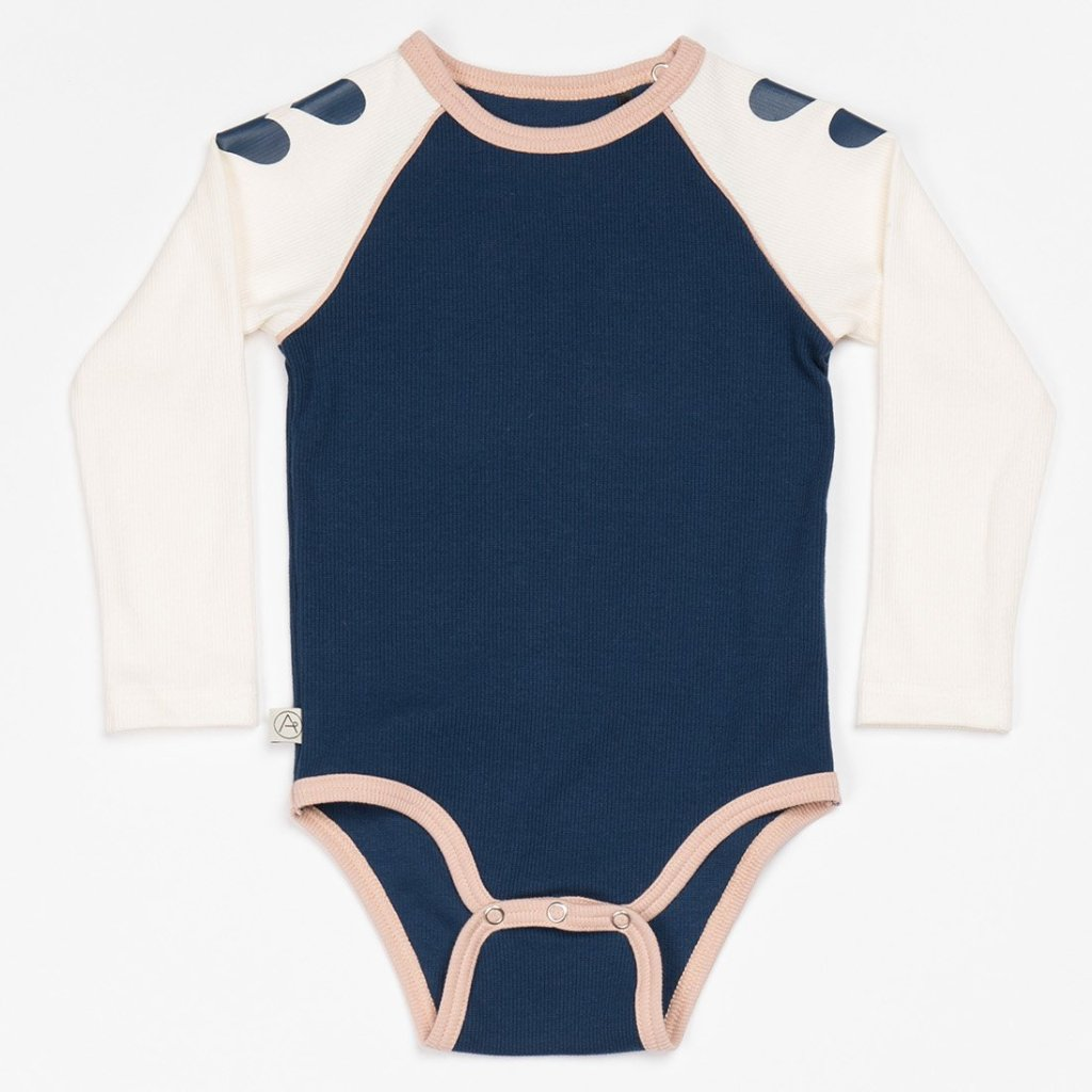 Alba Bianca Body - Estate Blue - Organic Cotton