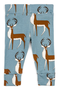Organic Cotton Leggings - Blue Buck