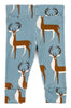 Image of Organic Cotton Leggings - Blue Buck