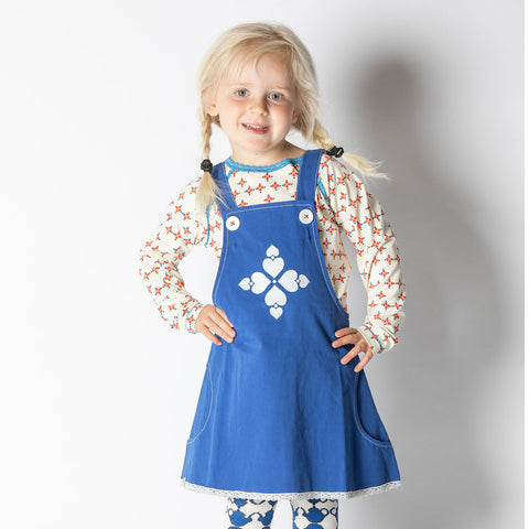 Image of Alba Mary Spencer Dress - Solidate Blue - Tilly & Jasper