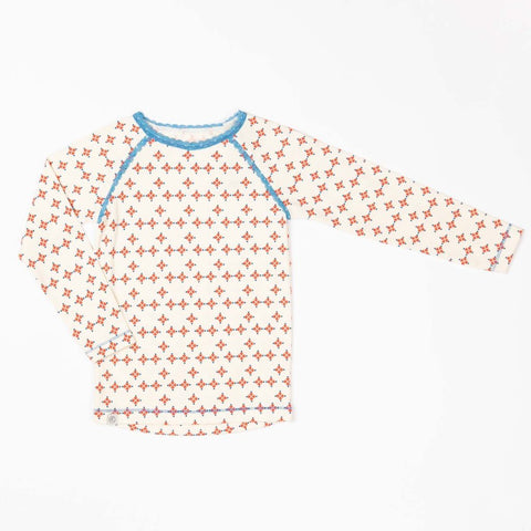 Image of Alba Ghita Top - Fiesta Mini Hearts - Tilly & Jasper