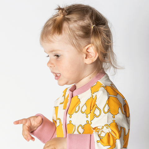 Image of Alba Hert Playsuit - Beeswax Teapots - Tilly & Jasper