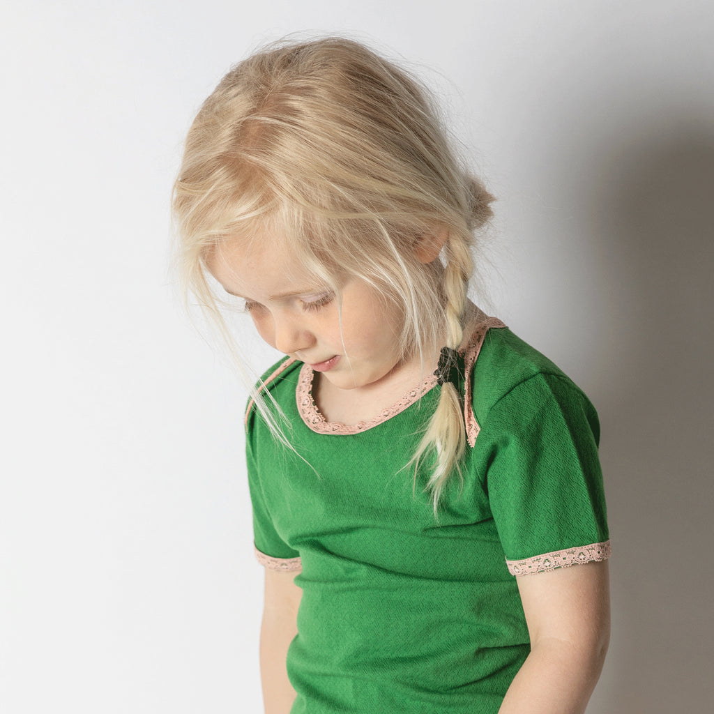Alba Vera T-shirt - Juniper Adorable Tiles - Tilly & Jasper