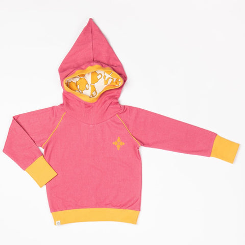 Image of Alba Habian Hoodie - Rapture Rose - Tilly & Jasper