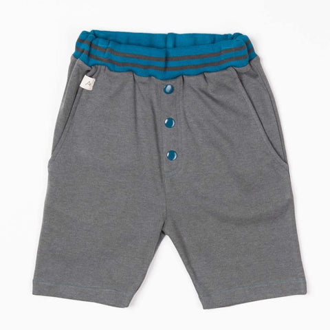 Image of Alba Mike Shorts - Castlerock Melange - Tilly & Jasper