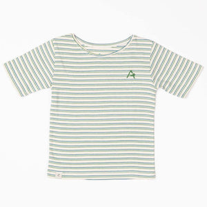 Alba Gate T-shirt - Seaport Striped - Tilly & Jasper