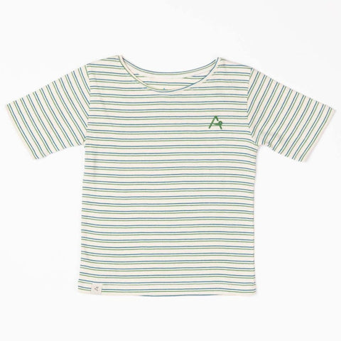 Image of Alba Gate T-shirt - Seaport Striped - Tilly & Jasper