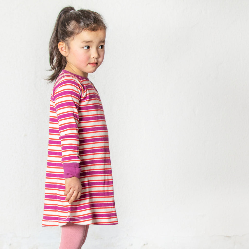 Alba Merry MySchool Dress - Boysenberry Magic - Tilly & Jasper
