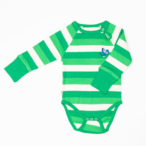 Alba Kay Body - Kelly Green Stripes